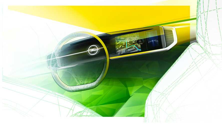 Nuova Opel Mokka, i bozzetti che anticipano interni e cockpit digitale