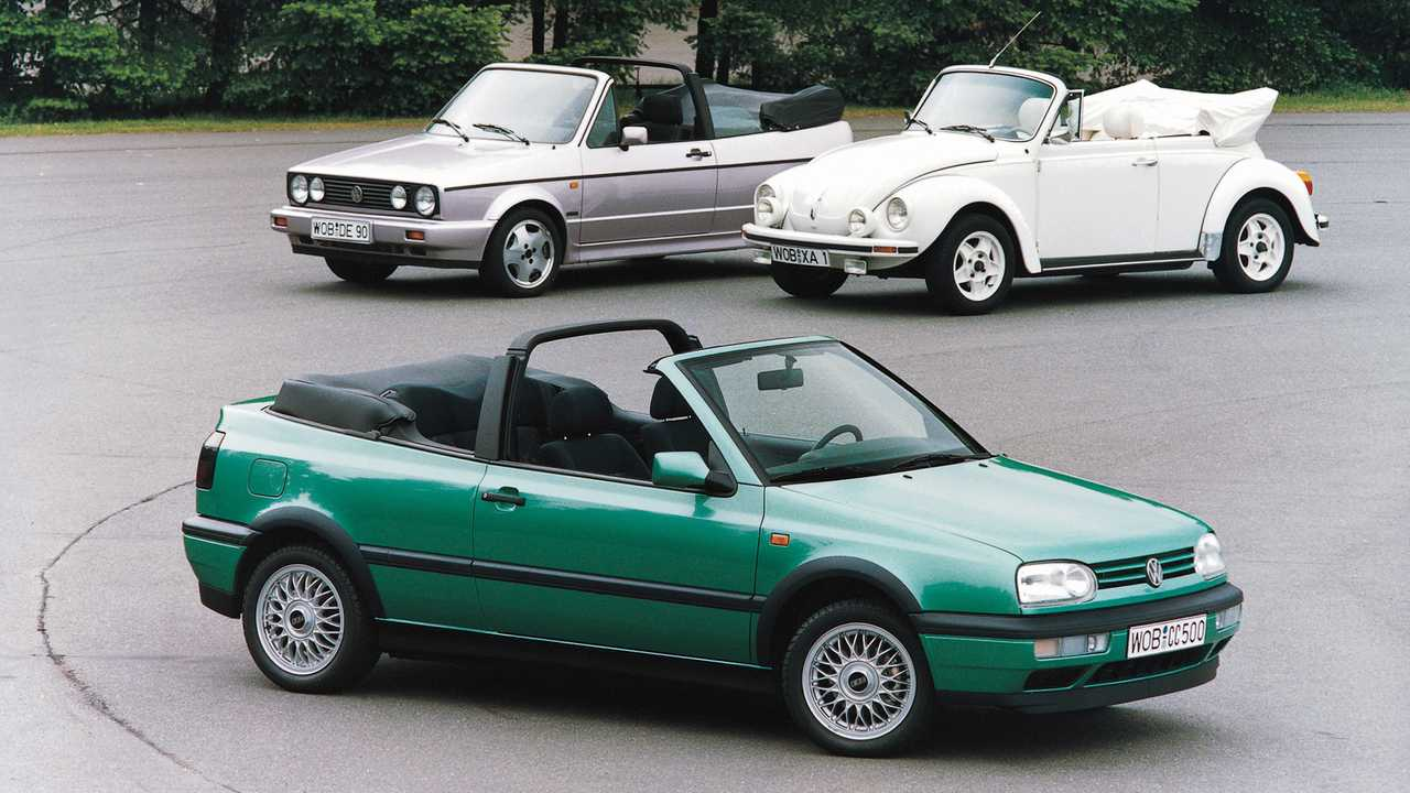 VW Golf Cabriolet (1993)