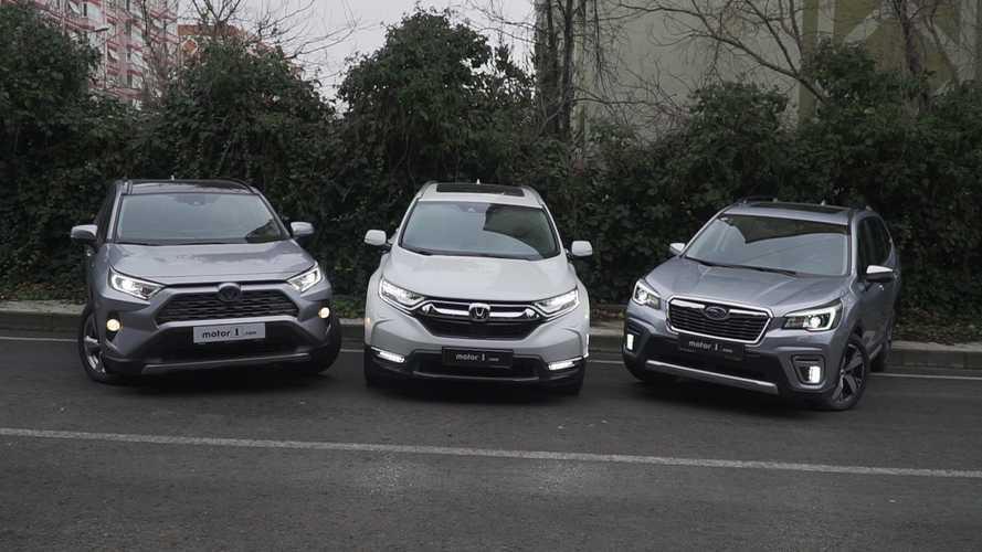 Karşı Karşıya: Toyota, Honda ve Subaru'nun hibrit SUV modelleri