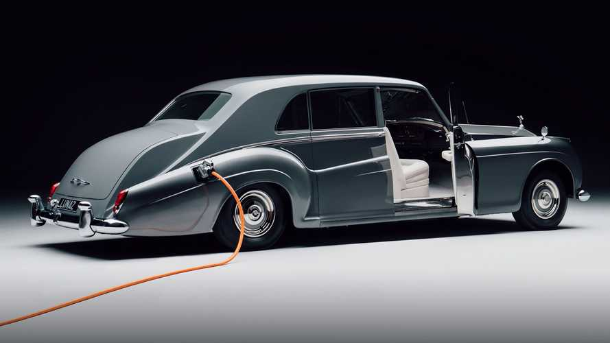 Electric 1961 Rolls-Royce Phantom Is The Most Fitting EV Conversion Ever