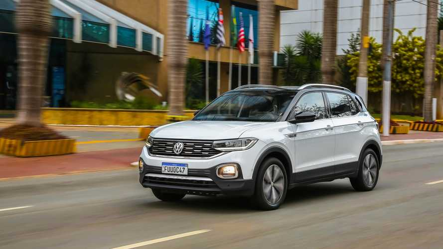 Volkswagen T-Cross 2021 recebe multimídia VW Play de série em todas as versões