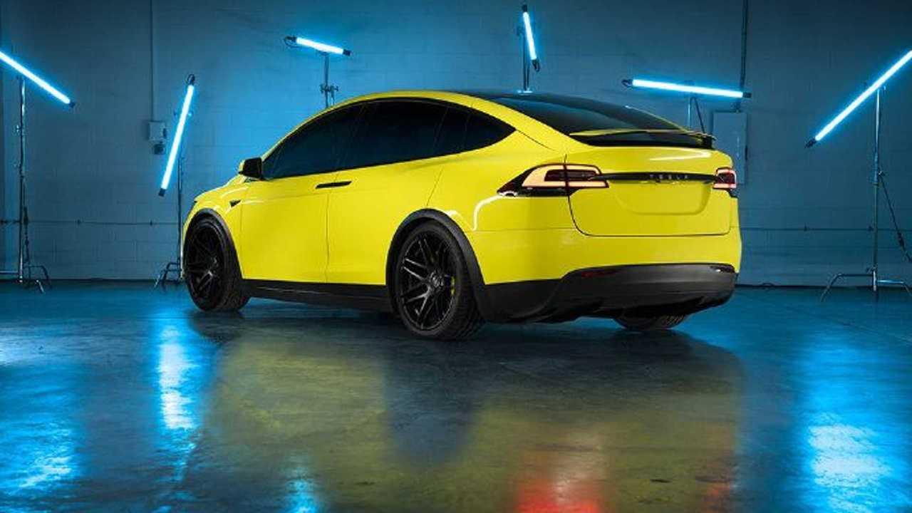 Tesla Yellow Wrap