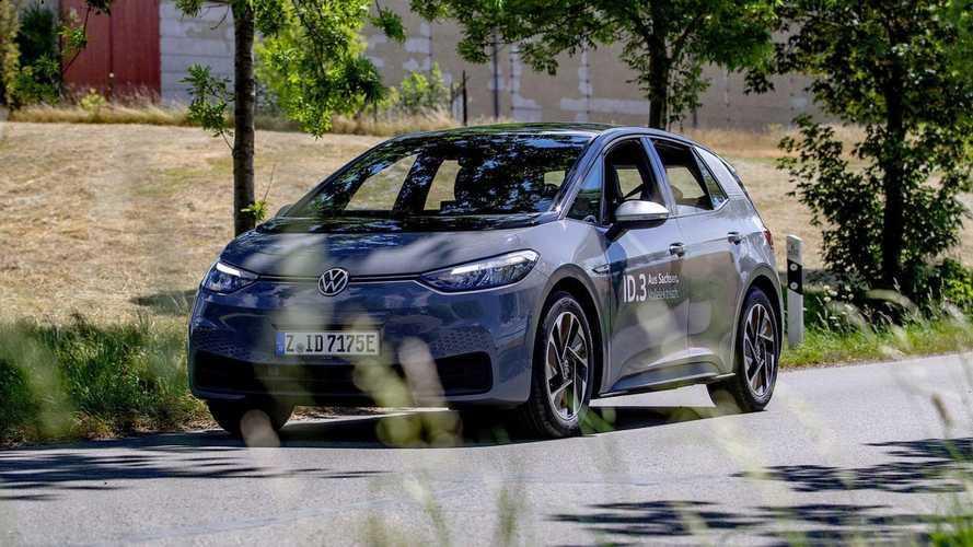 Volkswagen ID.3 faz viagem de 531 km entre Alemanha e Suíça com uma carga