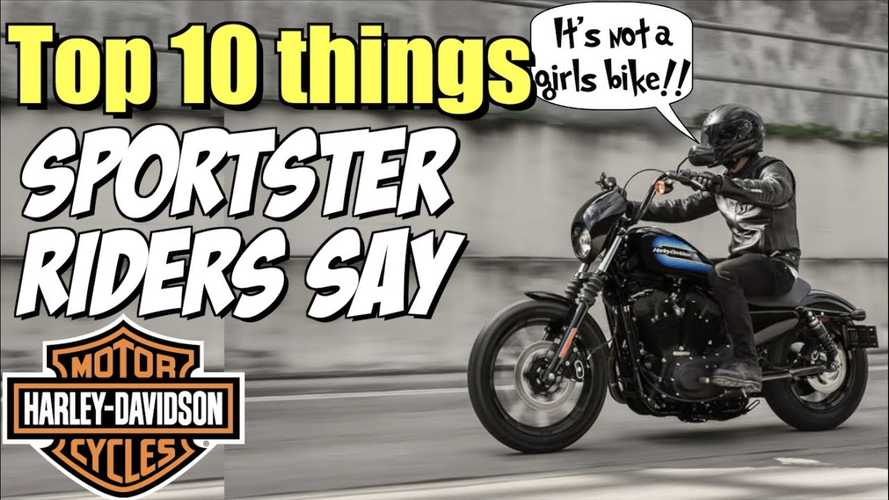 Stuff Harley-Davidson Sportster Owners Say