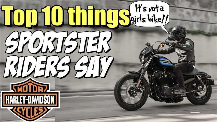 Stuff Harley-Davidson Sportster Owners Say