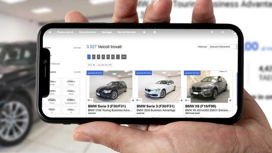 L'auto usata si acquista online e BMW la consegna a domicilio