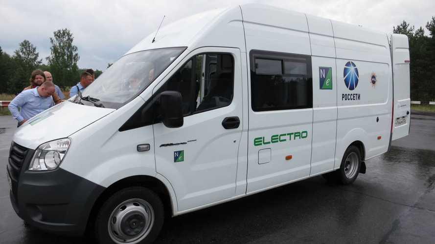 Росстандарт опубликовал технические данные электрической ГАЗели