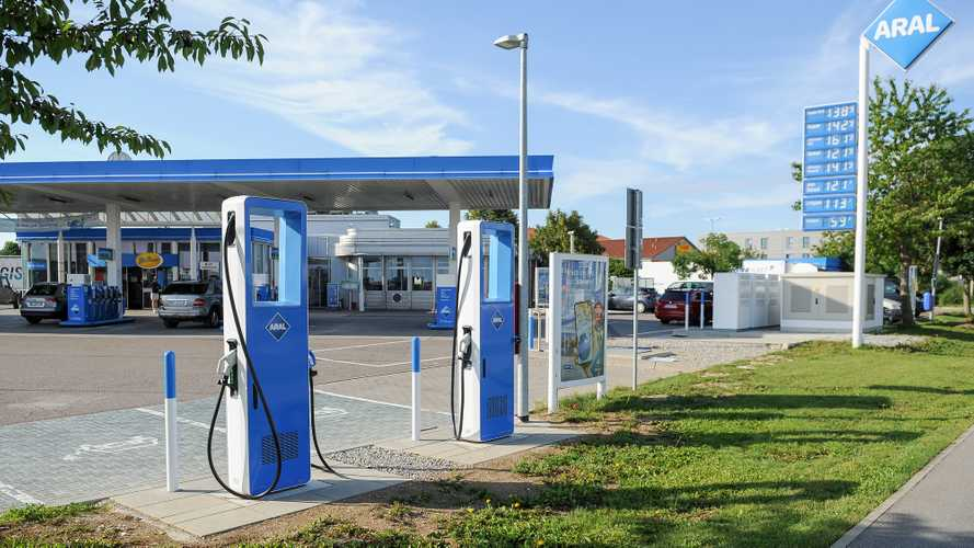 Aral ultra fast charging station in Germany