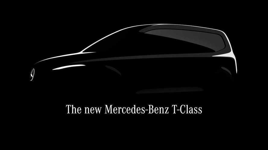 Mercedes-Benz Classe T: van compacta estreia em 2022 com versão elétrica