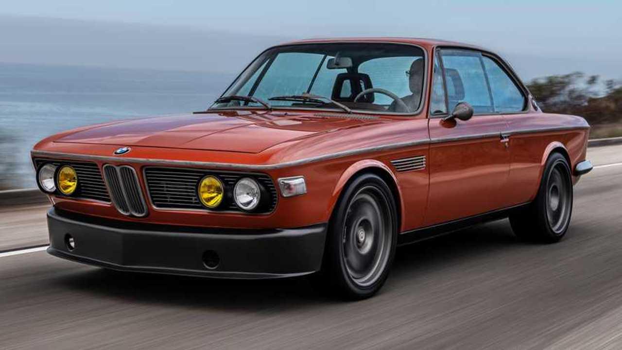 BMW 3.0 CS, de 1974, ex Robert Downey, Jr. restaurado apertura