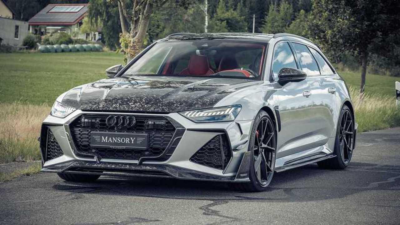 Audi RS 6 Avant par Mansory