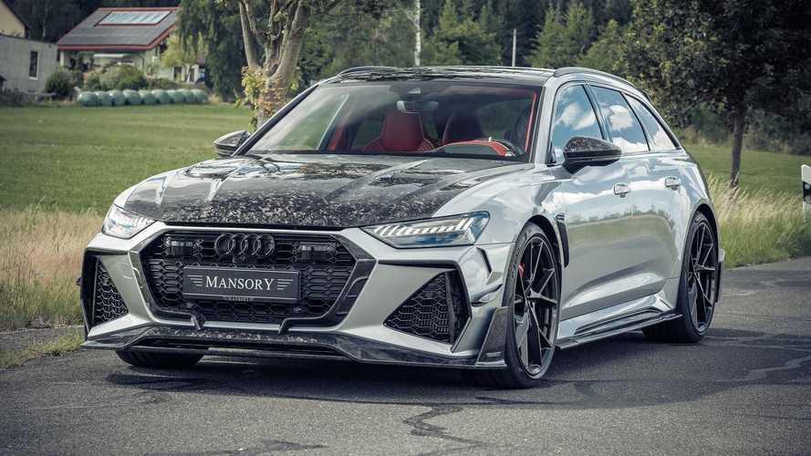 Mansory propulse le V8 de l'Audi RS 6 Avant à 780 ch
