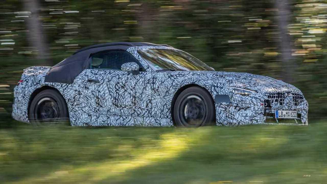 2022 Mercedes-Benz SL Roadster lead image