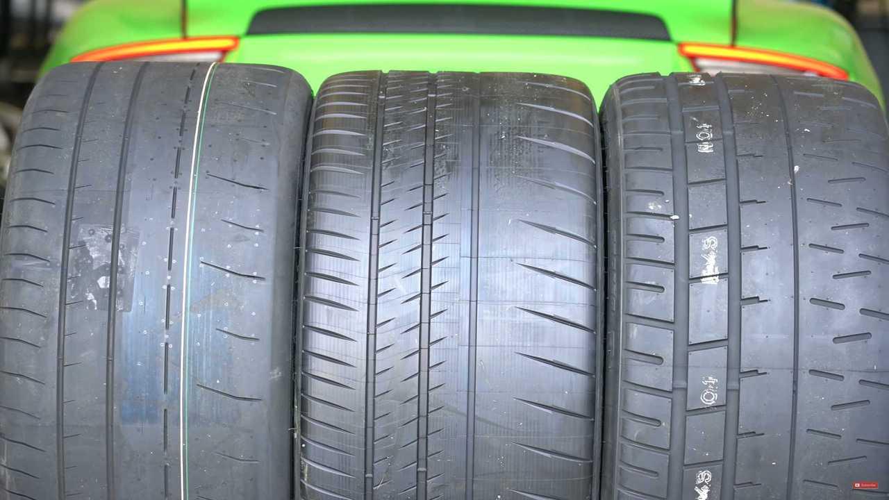 Track Tire Test Screenshot