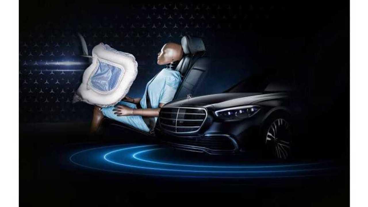 Mercedes-Benz Classe S airbag arrière