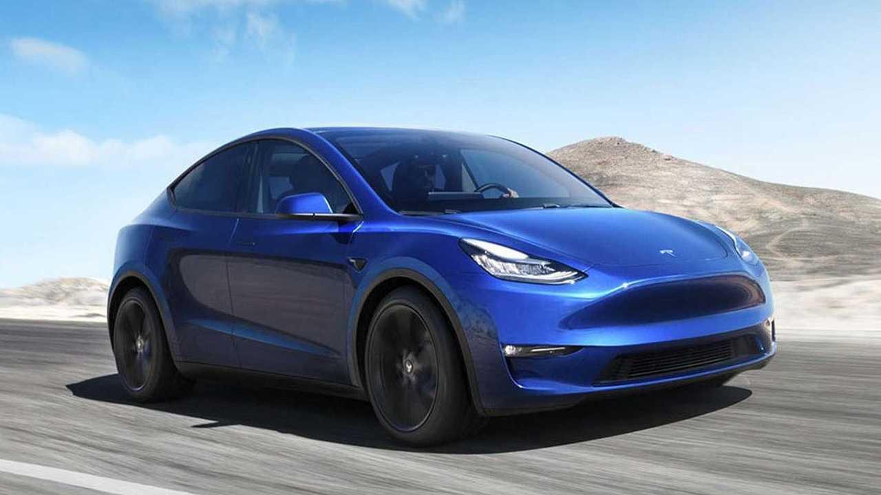 Tesla Model Y (inizio 2021)