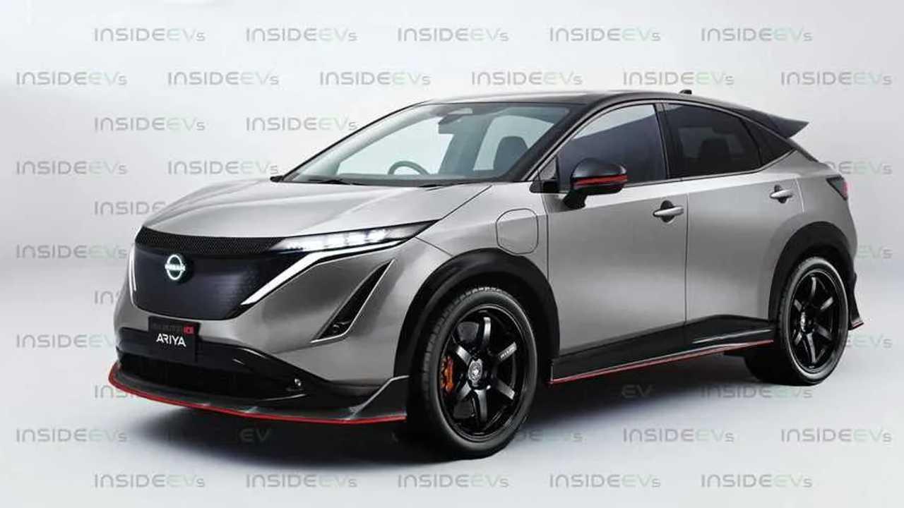 Render Nissan Ariya NISMO