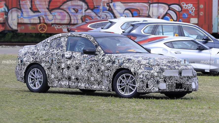 BMW 2 Series Coupe spied hiding its updated design