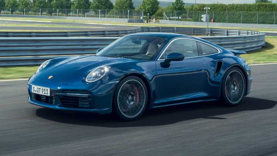 2021 Porsche 911 Turbo Coupe
