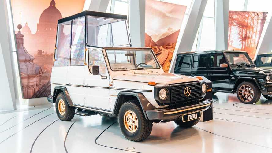 L'histoire de la première papamobile, le Mercedes-Benz Classe G