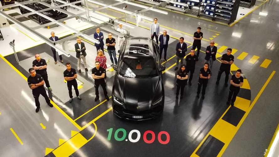 Lamborghini has already built 10,000 Urus SUVs