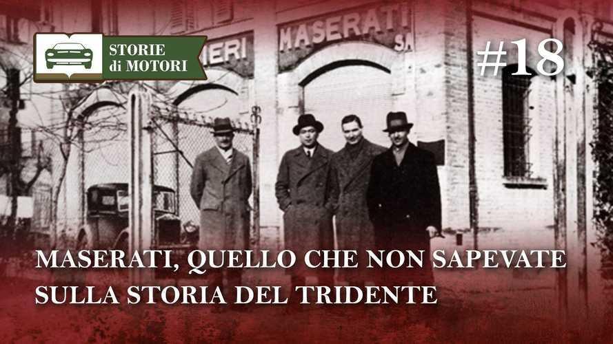 Maserati, la storia del Tridente in 15 minuti