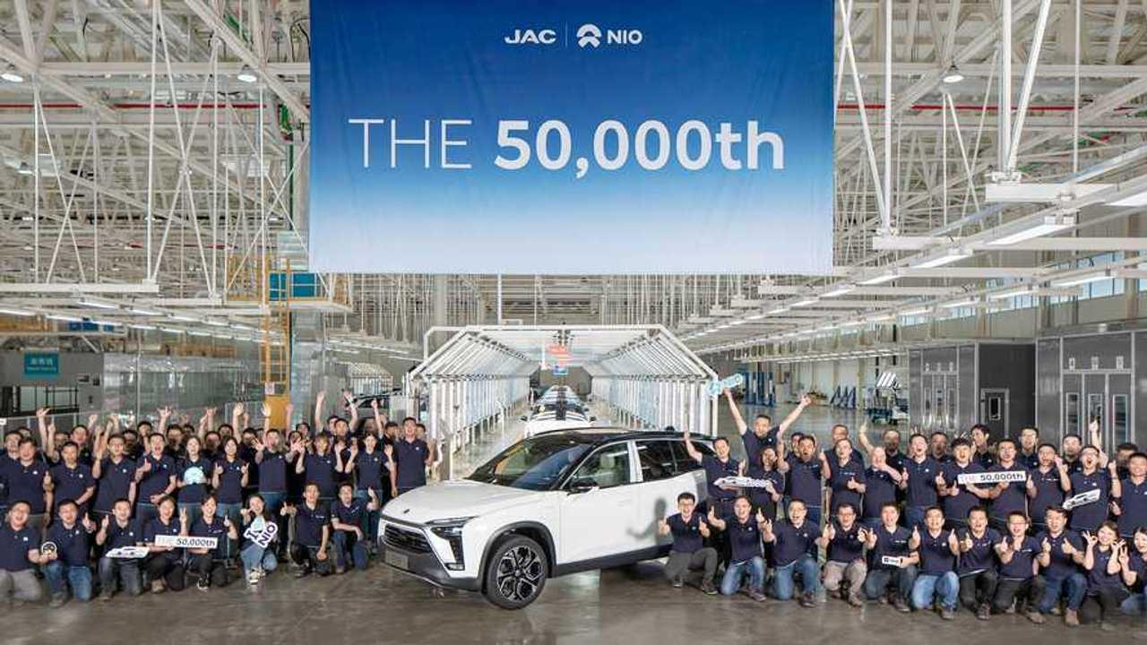 NIO's 50,000th car