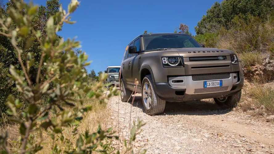 Land Rover Defender, la nostra prova mare-monti