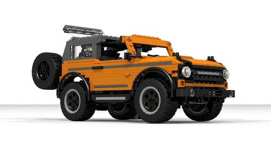 Así es el Ford Bronco 2021 de Lego, aunque no está a la venta