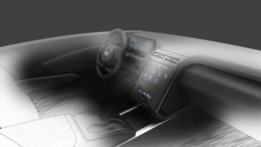 Yeni Hyundai Tucson'dan modern kabinini gösteren teaser'lar geldi