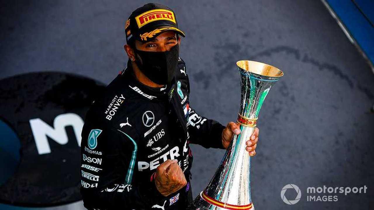 Lewis Hamilton at Spanish GP 2020