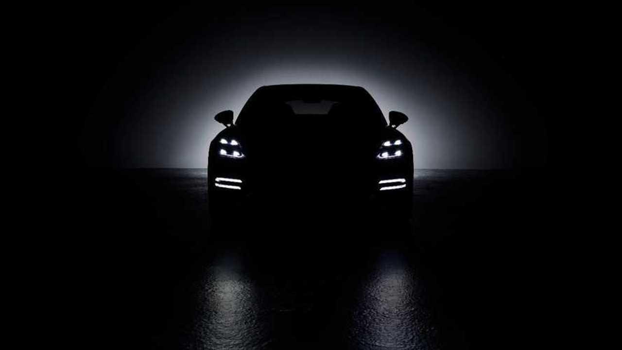 2021 Porsche Panamera teaser