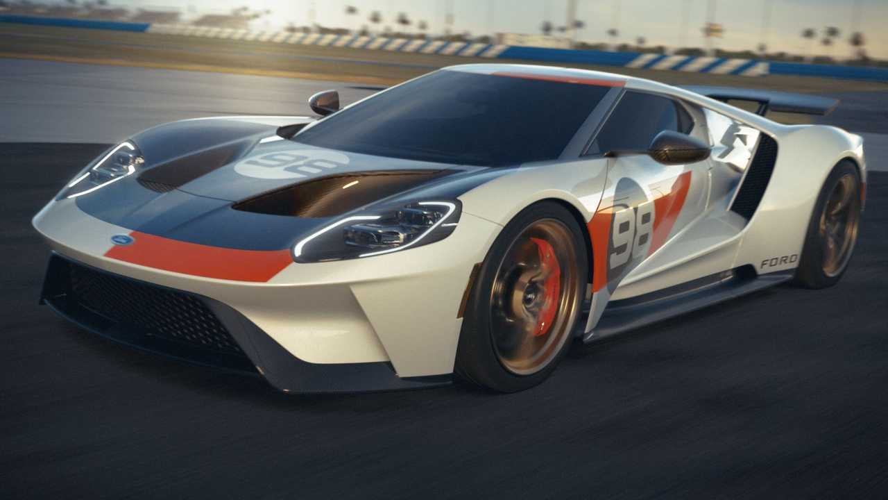 2021 Ford GT Heritage Edition Front Quarter Beauty