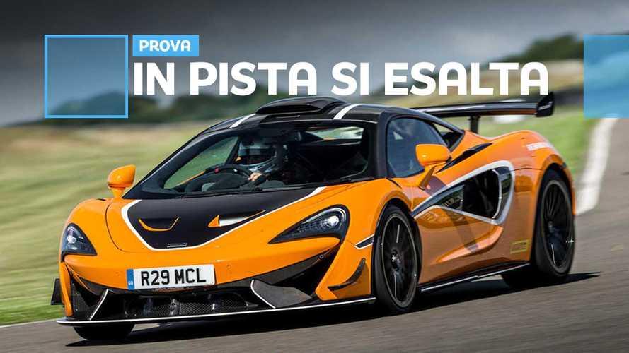 McLaren 620R, abbiamo guidato la GT4 stradale che toglie il fiato