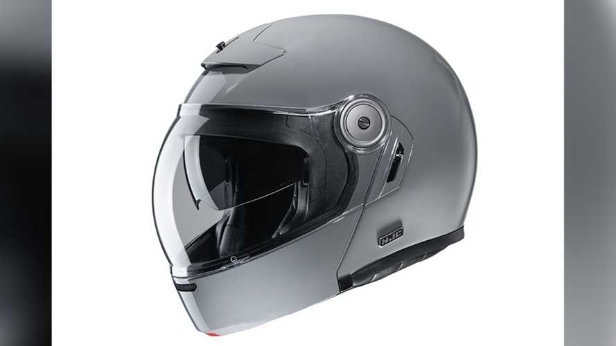 HJC Introduces New V90 Vintage Modular Helmet With Bubble Visor