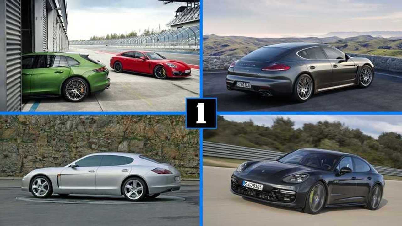 La Porsche Panamera en dix faits marquants