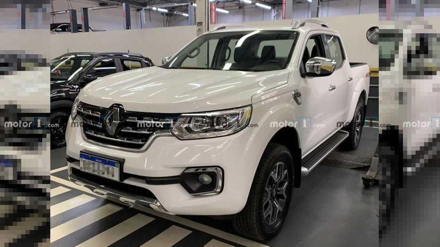 Exclusivo: Picape Renault Alaskan já está no Brasil; veja flagra