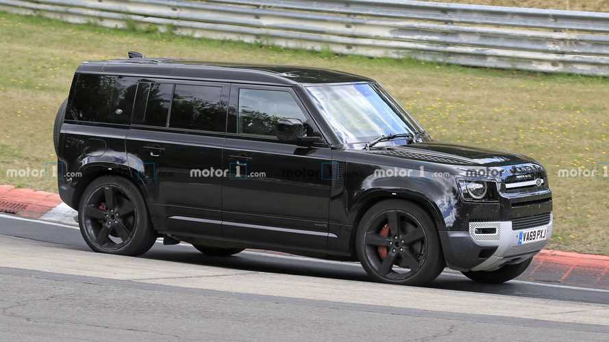 Le Land Rover Defender montre son V8 en action sur le Nürburgring