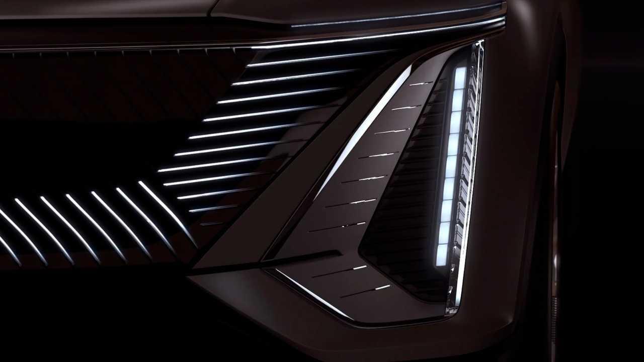 Cadillac Lyriq Teaser Ekran Görüntüleri