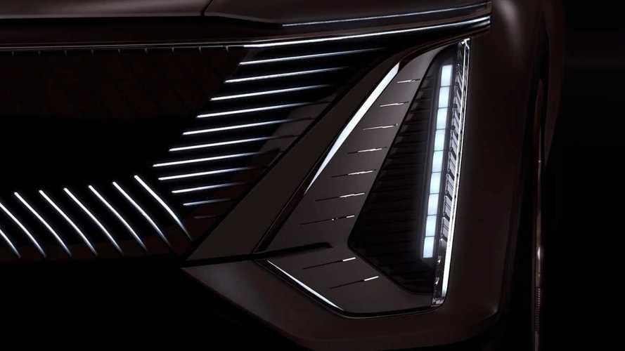 Cadillac Lyriq Teaser Screenshot