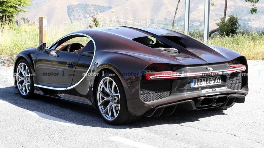 Bugatti Chiron Super Sport, fotos espía