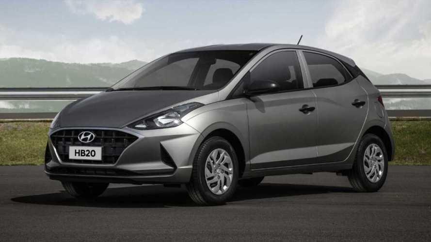 Hyundai começa a retomar produção de HB20 e Creta em Piracicaba (SP)