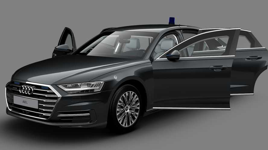 Audi A8 L Security 2020: la berlina blindada de la marca alemana