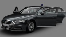 2021 Audi A8 L Security