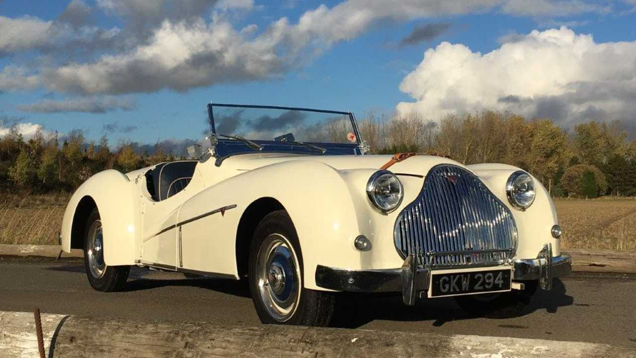 The British classic car history doesn't talk about