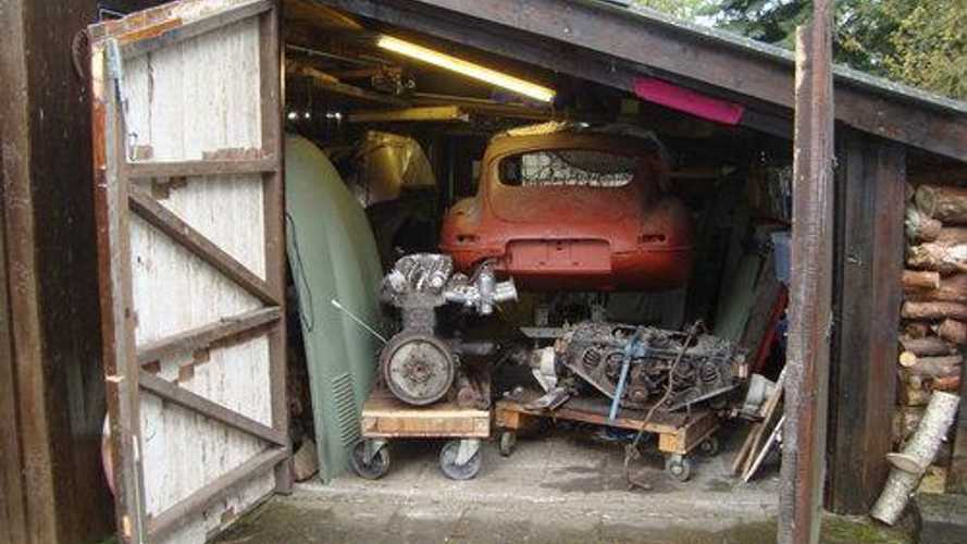 First ever left-hand drive Jaguar E-type 2+2 found in barn