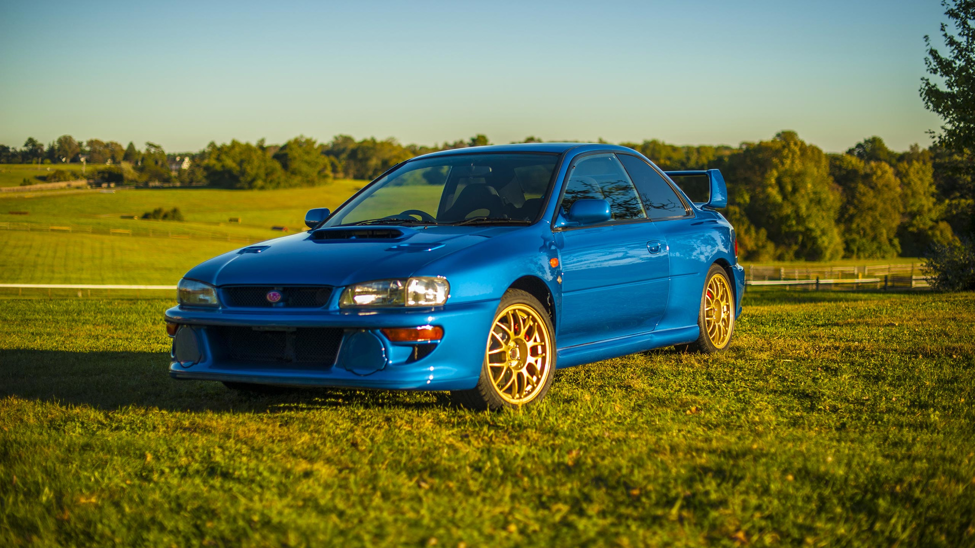 A Holy Grail Subaru Impreza 22b Sti Is Up For Sale Name Of The In Born To Race