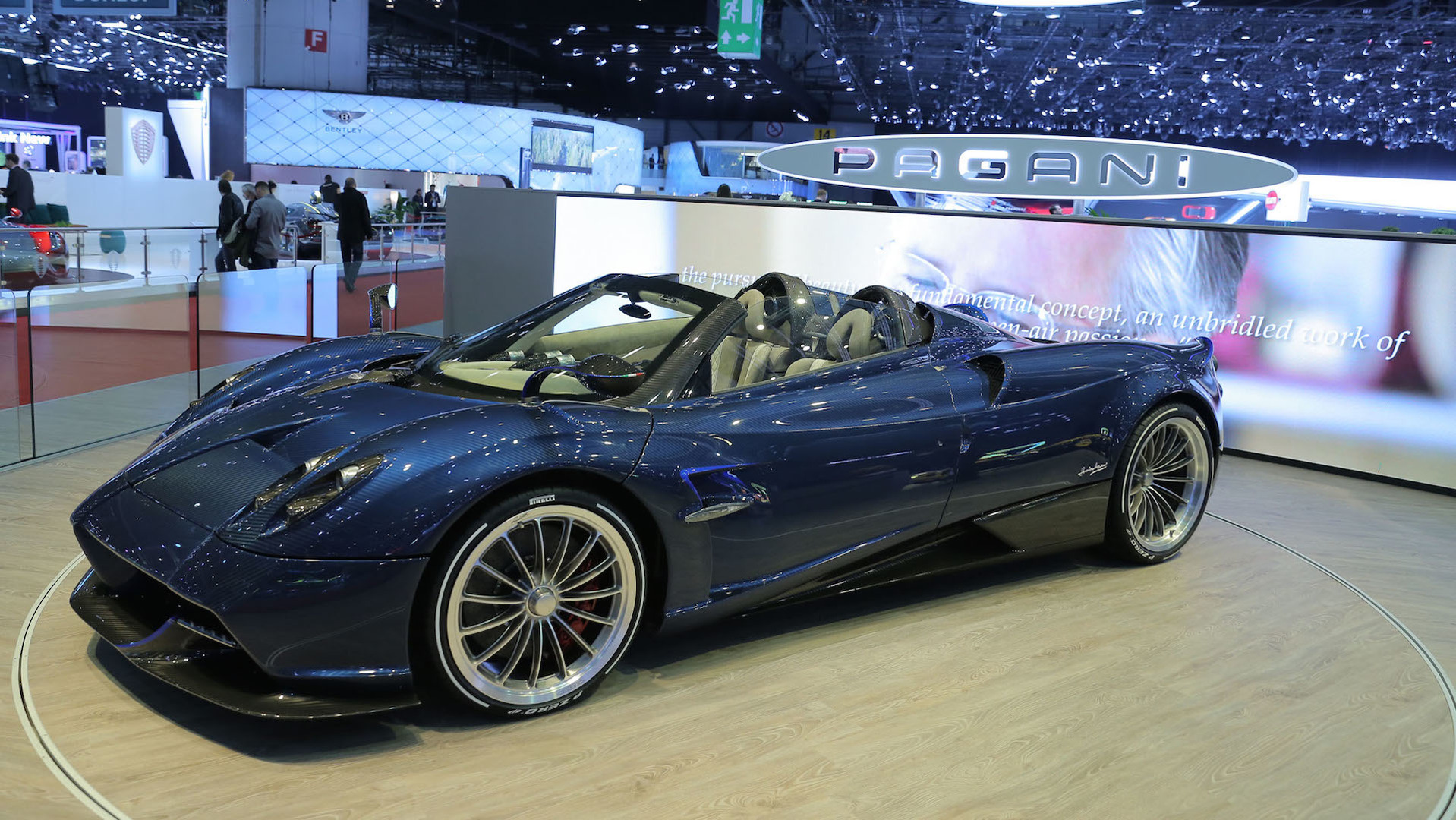 New Pagani Huayra Roadster Is Lighter More Powerful Than The Coupe