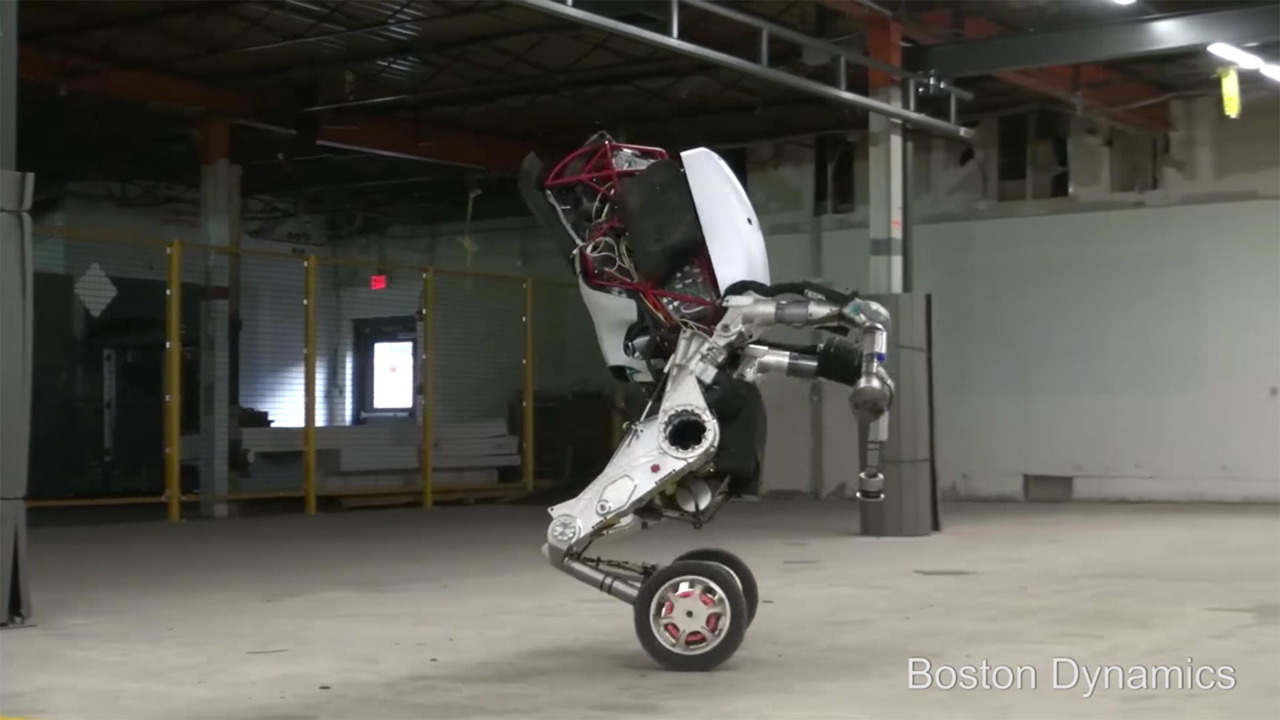 Boston Dynamics Handle