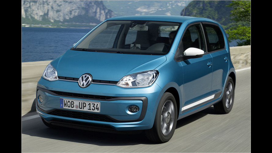 Gelifteter VW Up (2016) mit 90-PS-Turbobenziner im Test